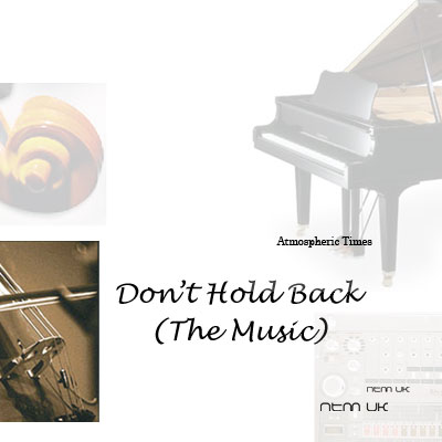 Don't Hold Back CD Front