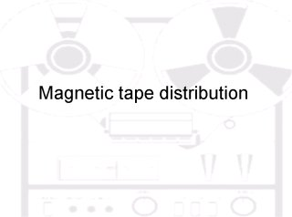 Tape Music Magnetic Tape cover