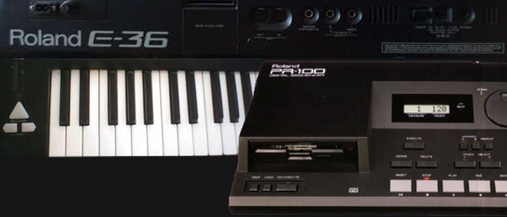 Roland E-36 and PR-100 Tape Sessions (1994-99)